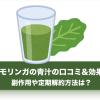 モリンガの青汁in乳酸菌の<口コミ評判>特集